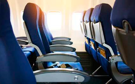 Aircraft seats can be fully recycled.
